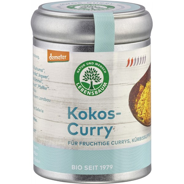 Condiment pentru Curry cu cocos bio