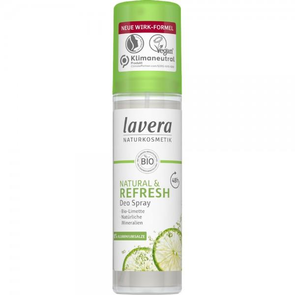 Deo Spray Refresh cu Lime BIO