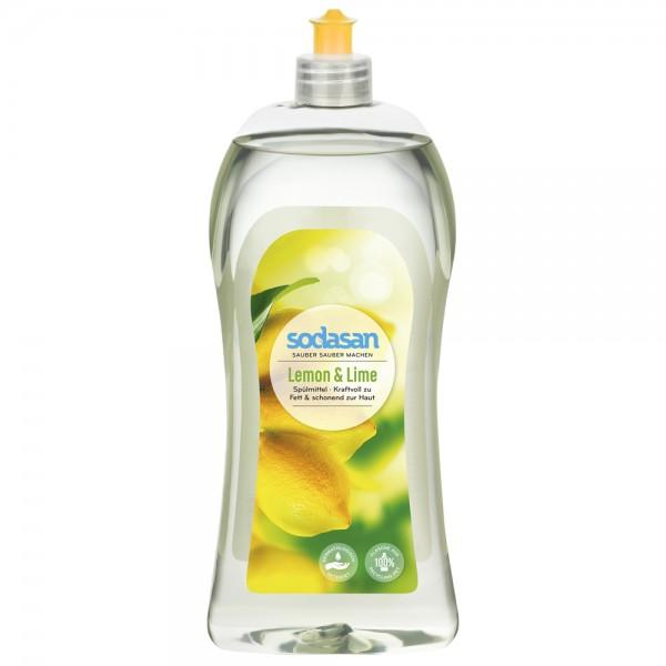 Detergent de vase lichid cu lamaie si lime REZERVA