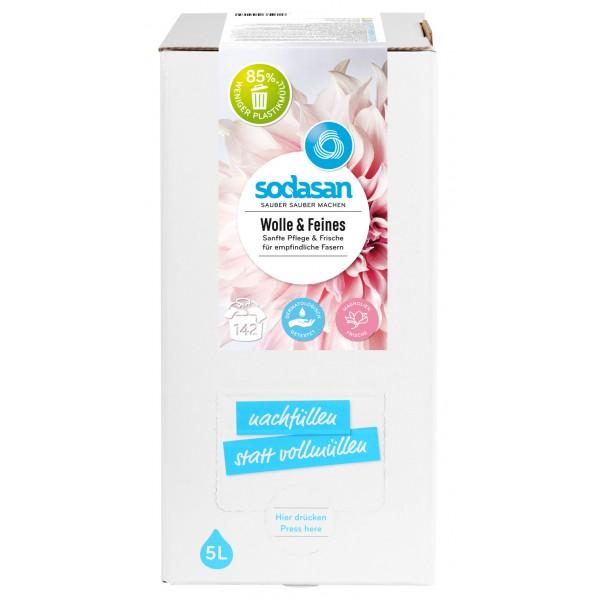 Detergent lichid pentru lana si rufe delicate Bag-in-Box