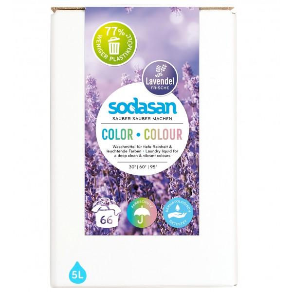 Detergent lichid pentru rufe colorate cu lavanda
