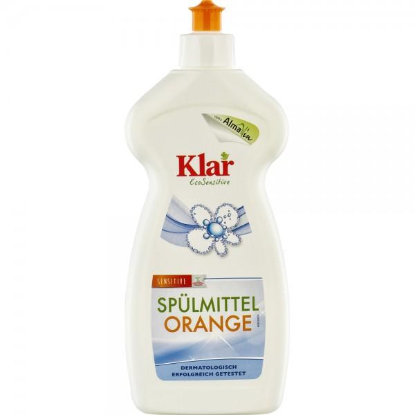 Detergent lichid sensitiv cu portocala pentru vase