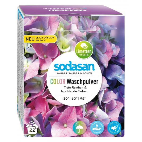 Detergent pudra pentru rufe colorate
