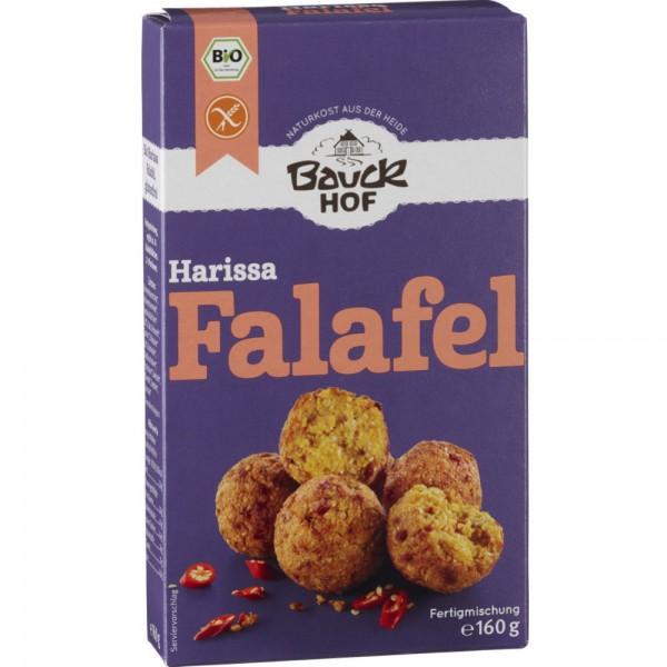 Falafel Harissa cu ardei si chili bio