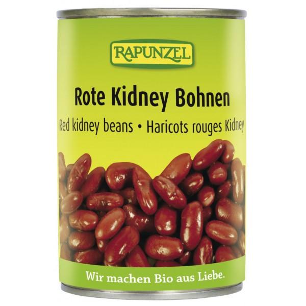 Fasole Kidney rosie in doza bio