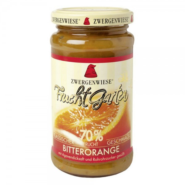 Gem de portocala amara indulcit cu nectar de agave FARA GLUTEN bio
