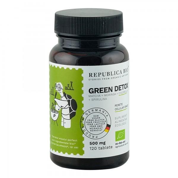 Green Detox 120 tablete bio