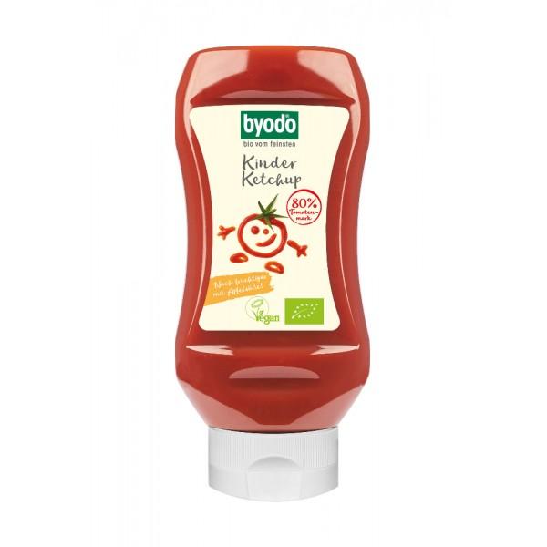 Ketchup pentru copii cu 80% tomate FARA GLUTEN bio
