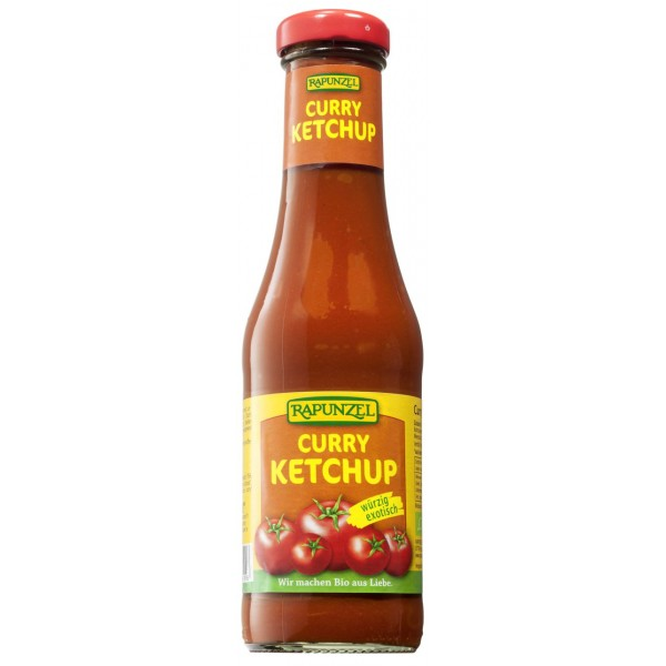 Ketchup de tomate Curry bio