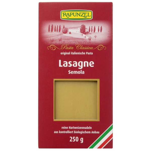 Lasagna semola bio
