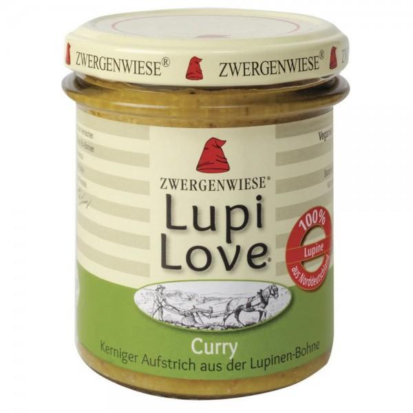 Lupi Love crema tartinabila din lupin si curry FARA GLUTEN bio