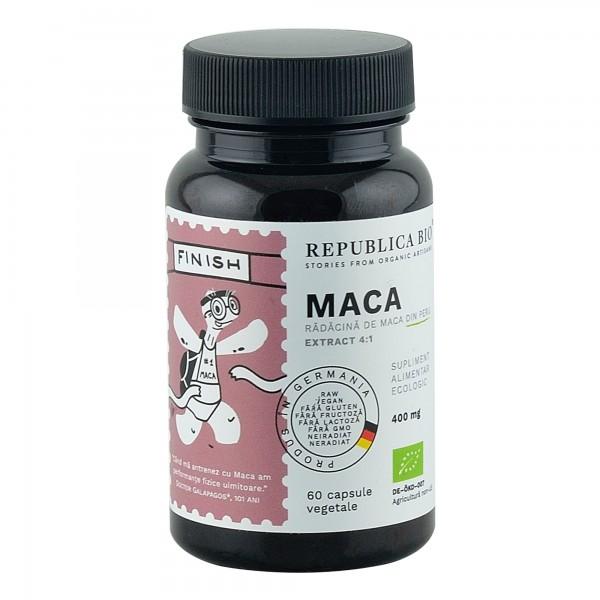 Maca extract 4:1, 60 capsule bio