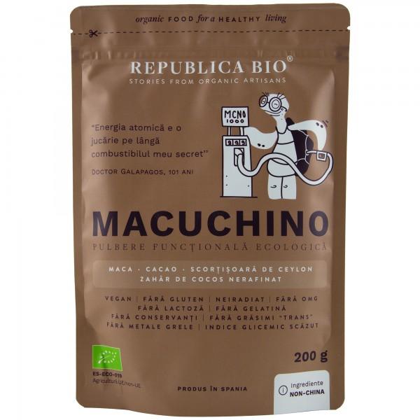 Macuchino pulbere functionala bio