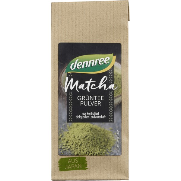 Matcha pulbere de ceai verde bio