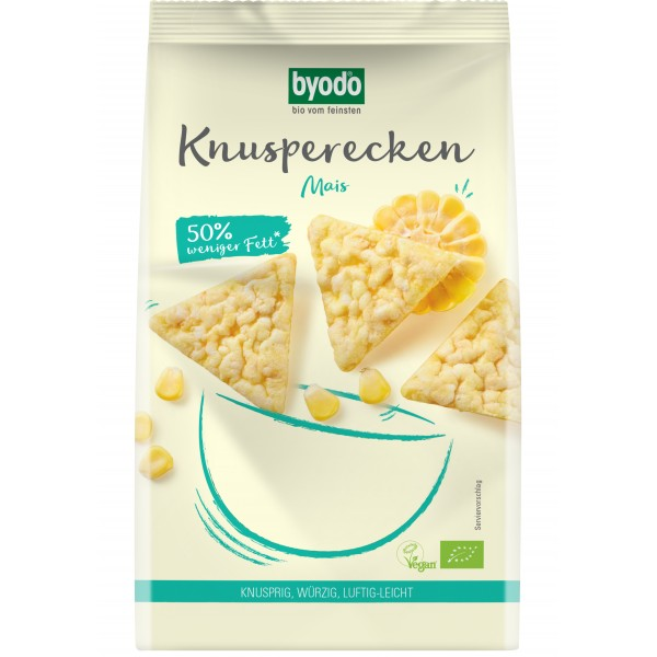 Mini Crackers din porumb FARA GLUTEN bio