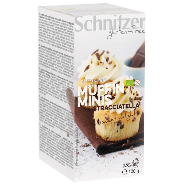 Mini muffins cu Stracciatella FARA GLUTEN bio