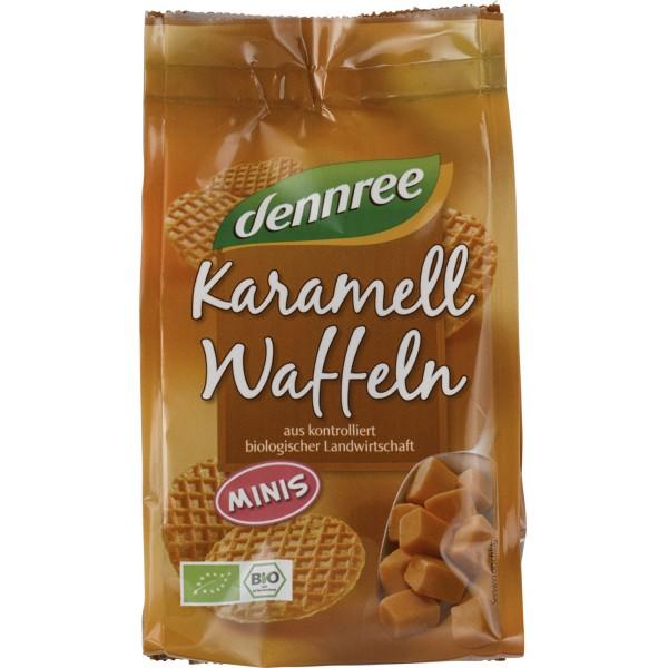 Mini Vafe cu caramel bio