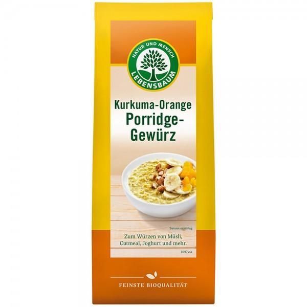 Mix de condimente pentru terci cu curcuma si portocala bio