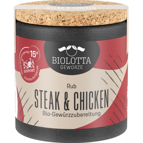 Mix de condimente pentru steak si pui bio
