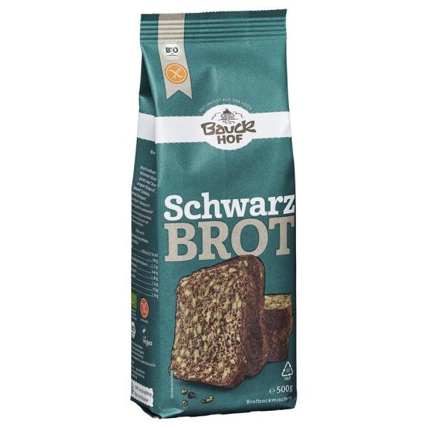 Mix de faina pentru paine neagra FARA GLUTEN bio
