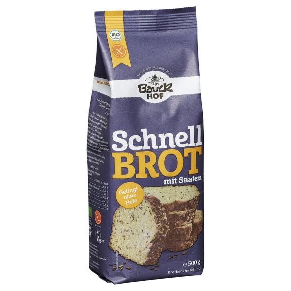 Mix de faina pentru paine rapida cu seminte FARA GLUTEN bio