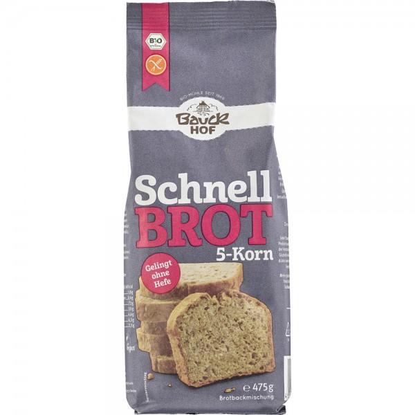 Mix din 5 cereale pentru paine rapida FARA GLUTEN bio