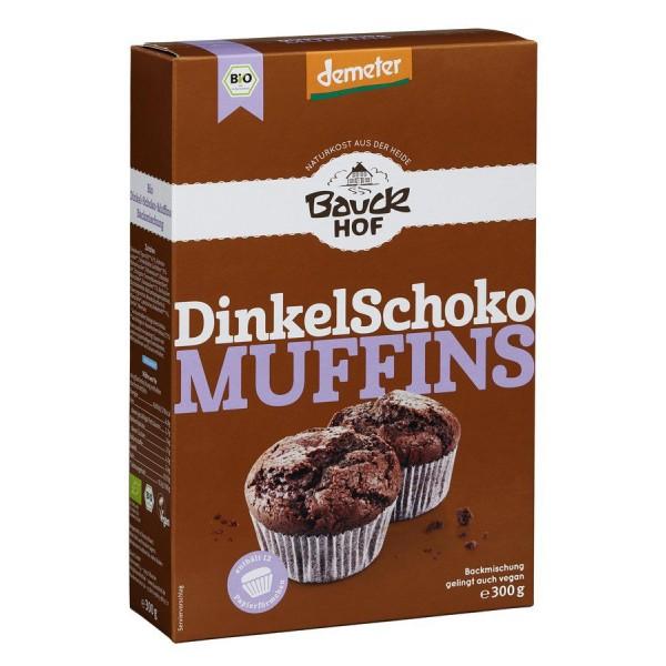 Mix din spelta pentru Muffins cu ciocolata Demeter bio