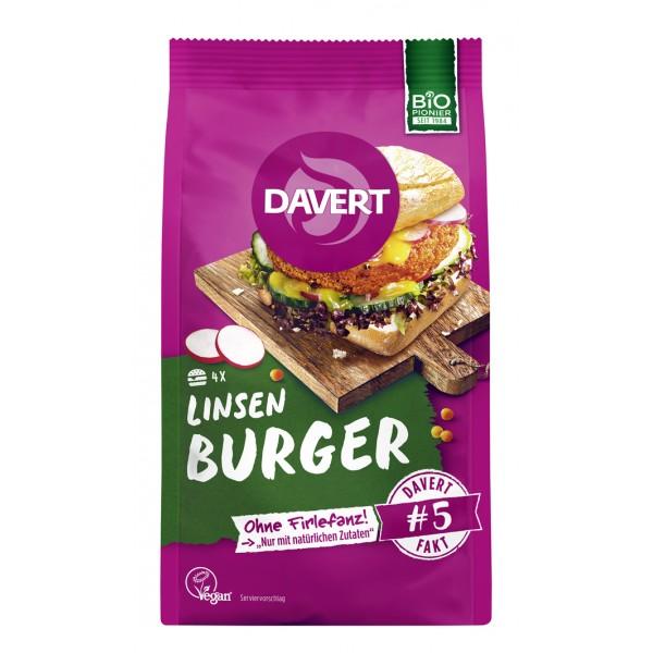 Mix pentru burger din linte bio