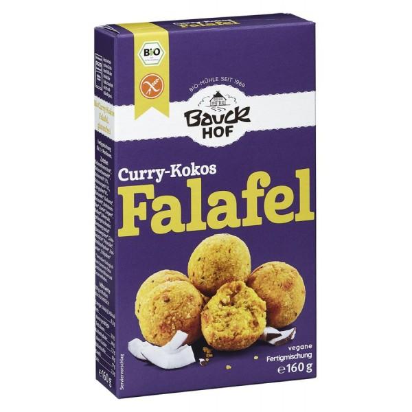 Mix pentru falafel curry si cocos FARA GLUTEN bio