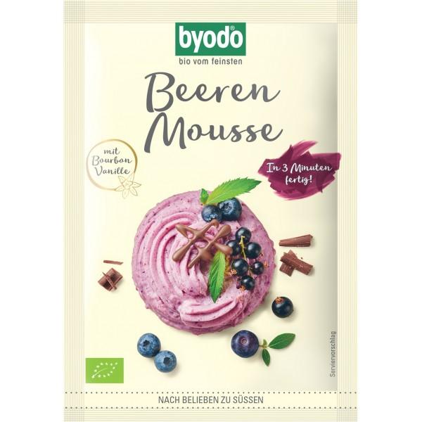 Mix pentru mousse cu fructe de padure FARA GLUTEN bio