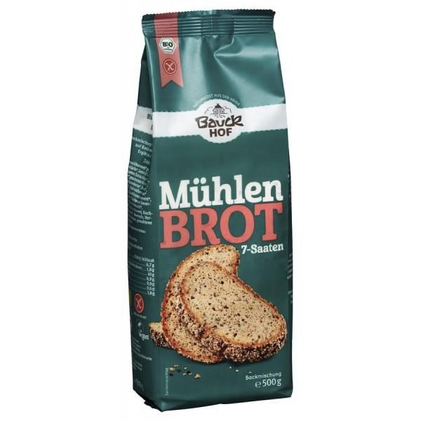 Mix pentru paine de moara FARA GLUTEN bio