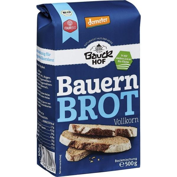 Mix pentru paine taraneasca integrala bio