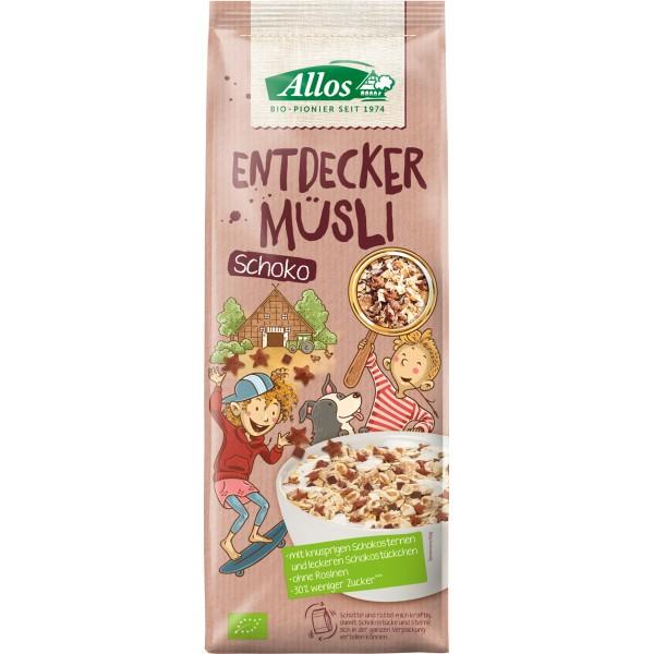 Musli cu ciocolata pentru copii bio