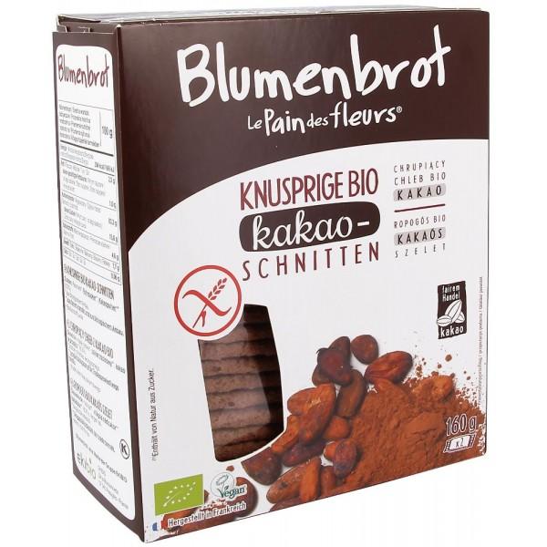 Paine crocanta cu cacao FARA GLUTEN bio