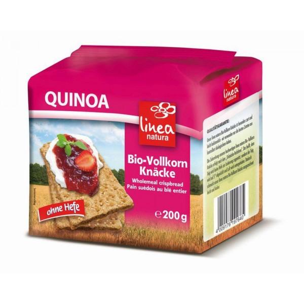 Paine crocanta cu quinoa bio