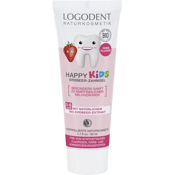 Pasta de dinti gel cu capsuni pentru copii