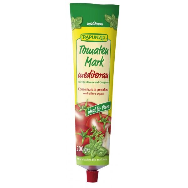 Pasta de tomate mediteraneana in tub bio