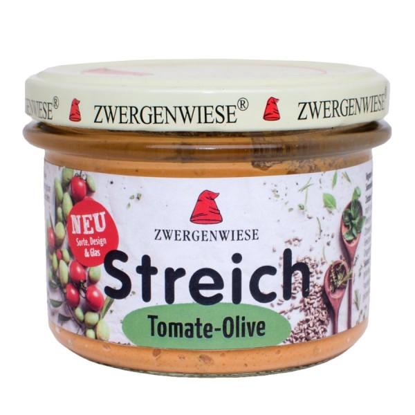 Pate vegetal cu tomate si masline bio