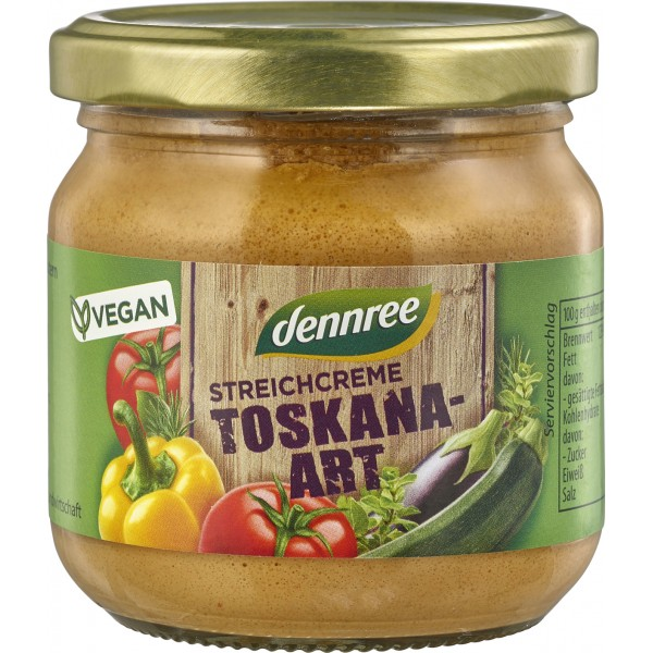 Pate vegetal Toskana bio