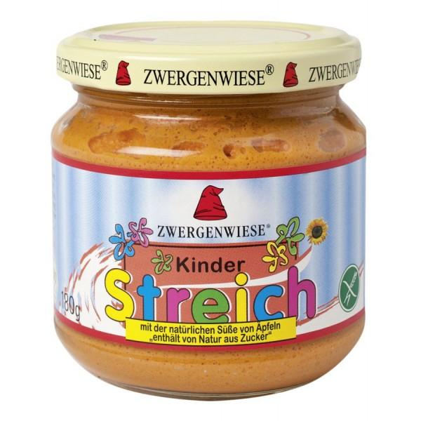 Pate vegetal pentru copii indulcit cu suc de mere FARA GLUTEN bio