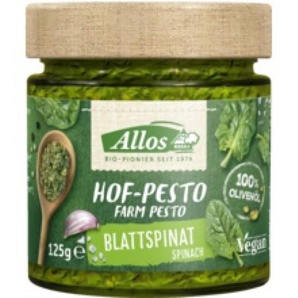 Pesto cu spanac bio