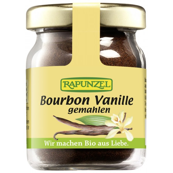 Vanilie Bourbon macinata  bio