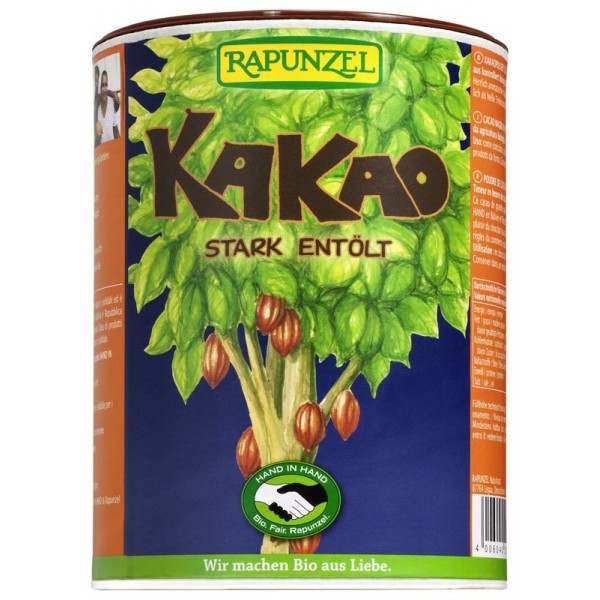 Pudra de Cacao degresata la doza bio