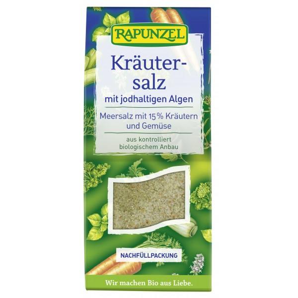 Sare iodata cu 15 % ierburi  legume si alge bio