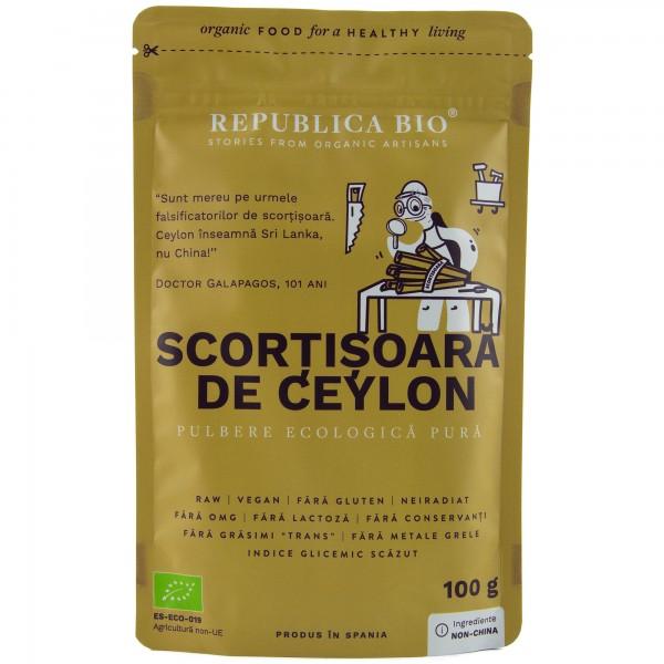 Scortisoara de Ceylon bio