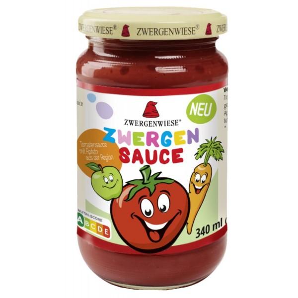 Sos de tomate pentru copii cu mere si morcovi bio