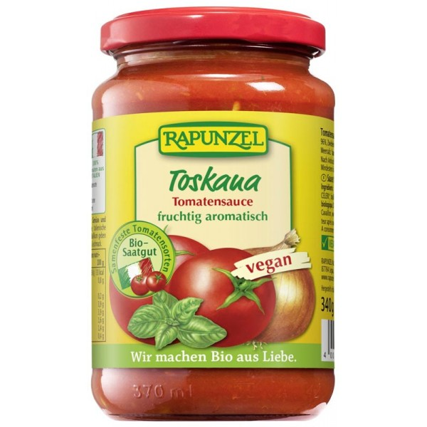 Sos de tomate Toscana VEGAN bio