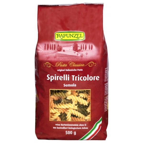 Spirelli Semola tricolore bio
