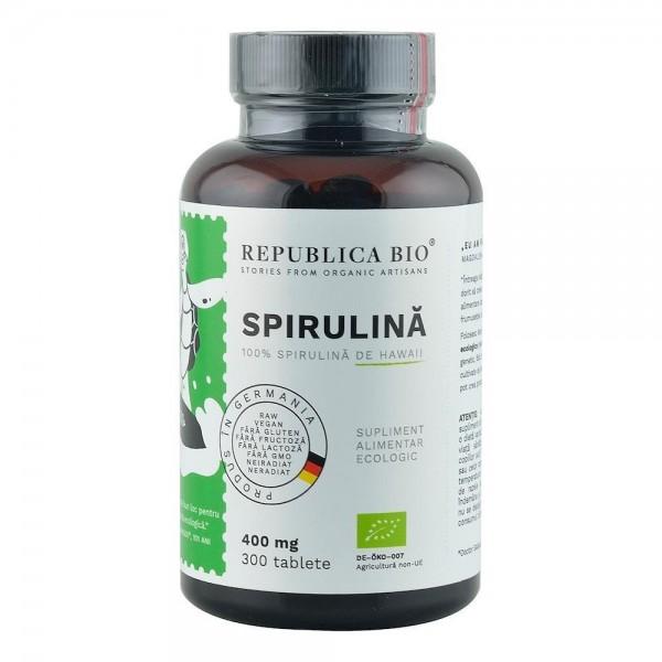 Spirulina 300 tablete bio