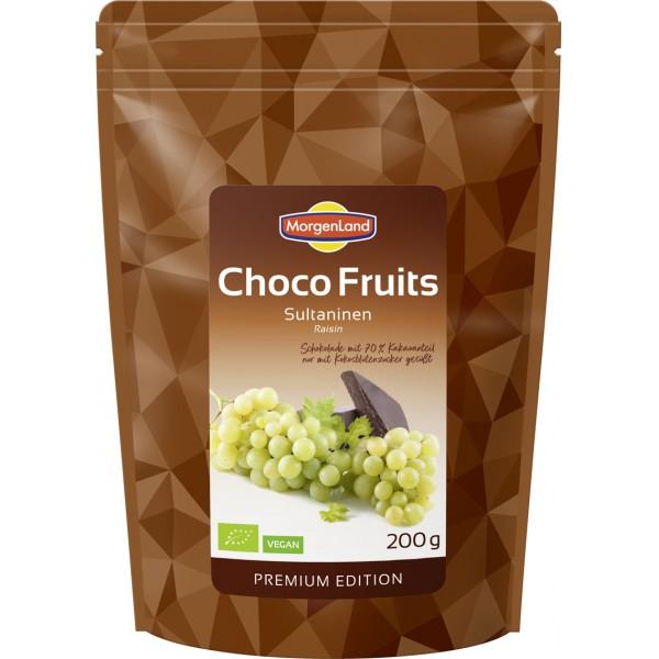 Stafide in ciocolata amaruie bio